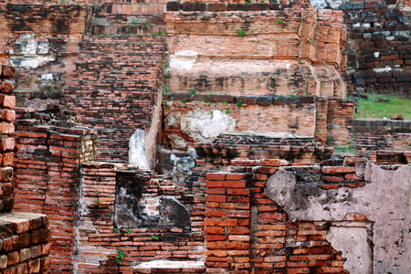 ayuttaya: The old ruin of Mahathat temple in Ayuttaya province of Thailand.