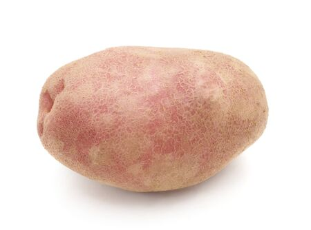 One fresh potato isolated on a white background. 写真素材