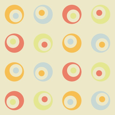 Retro background seamless Stock Vector - 10777402