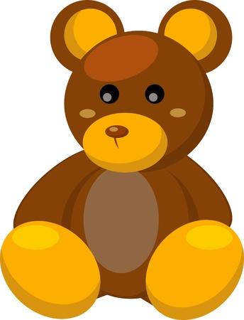 bear doll: Toy bear Illustration