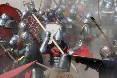 alabarda: Lotta sul campo di battaglia