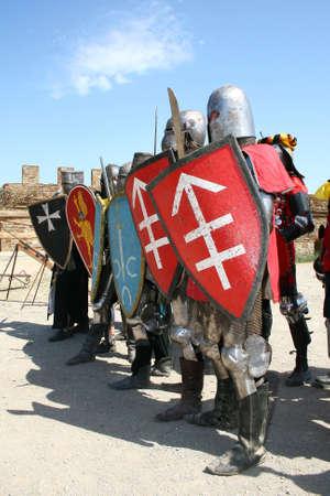 alabarda: Cavaliere prima della battaglia