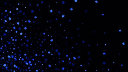 Beautiful random confetti stars for invitation template background design, greeting card, poster valentine day vector illustration Иллюстрация