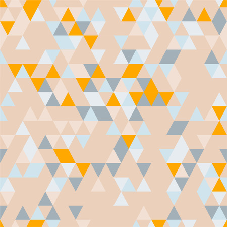 Triangle Pattern Triangle Seamless Background with Triangle Shapes of Different colors.  Textile, Fabric, Paper, Wallpaper Print Template Magazine, Leaflet, Booklet. Template for Your Design