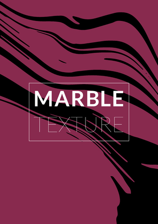 Gradient Vector Marble Texture. Simple Design Presentation.