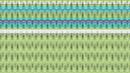 Seamless Knitting Texture. Striped Winter Sweater Holiday Design. Knit Background with Stripes and Empty Space for Text. Vector Illustration.