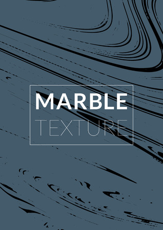 Marble Texture. Ink Splash. Colorful Fluid. Marble Textured Cool Cover, Party Flyers,  Magazine Cover, Catalog, Sale, Announcement. Gradient Vector Marble Texture. Size A4. Vettoriali