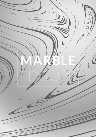 Marble Texture. Ink Splash. Colorful Fluid. Marble Textured Cool Cover, Party Flyers,  Magazine Cover, Catalog, Sale, Announcement. Gradient Vector Marble Texture. Size A4. Ilustração