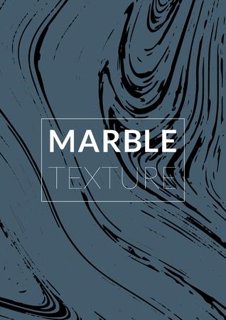 Marmeren Textuur. Inkt Splash. Kleurrijke vloeistof. Marmeren getextureerde coole omslag, feestmappen, tijdschriftomslag, catalogus, uitverkoop, aankondiging. Gradiënt Vector Marmeren Textuur. Formaat A4.