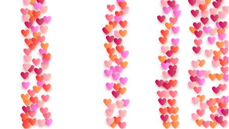 Happy Valentine's Day Background.  Illustration for your  Happy Valentine's Day Design.     Wedding Background for Greeting Card, Invitation or Banner. Vector illustration.