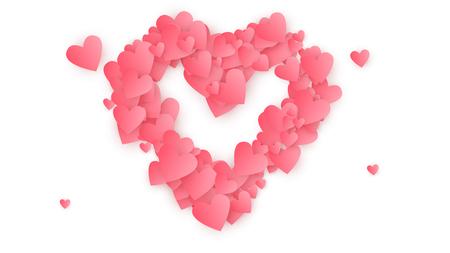 Happy Valentine's Day Background.  Illustration for your  Happy Valentine's Day Design
