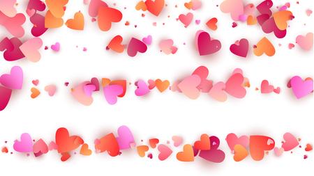 Happy Valentine's Day Background.  Illustration for your  Happy Valentine's Day Design. Valentines Background for Greeting Card, Invitation, Banner, Wallpaper, Flyer Vector illustration.