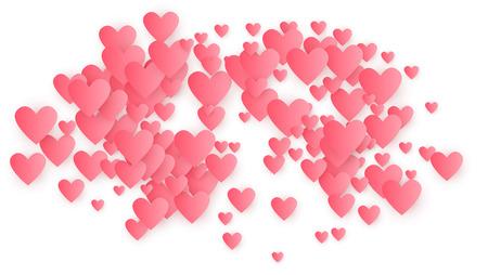 Valentine's Day Holidays Background. Illustration for your  Valentine's Day Holidays Design.     Wedding Background for Greeting Card, Invitation or Banner. Vector illustration. Иллюстрация