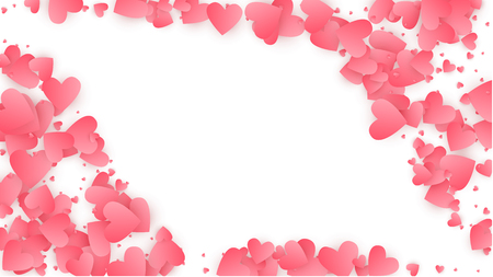 Happy Valentine's Day Background.  Illustration for your  Happy Valentine's Day Design. Valentines Background for Greeting Card, Invitation, Banner, Wallpaper, Flyer Vector illustration.