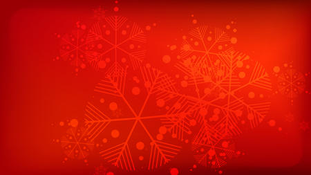 snowflakes red christmas background element of design with snow for a postcard invitation card - Red Christmas Background
