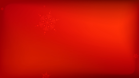 Snowflakes Red Christmas Background. Element of Design with Snow for a Postcard, Invitation Card, Banner, Flyer.  Vector Falling Snowflakes on a Red Background.