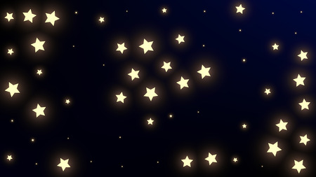 Constellation Map. Astronomical Print. Shining Cosmic Sky with Many Stars.     Night Galaxy Pattern. Vector Stars Background.