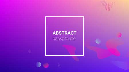 Gradient Background. Banner Design Composition. Modern Geometric Pattern. Horizontal Orientation. Gradient Background.
