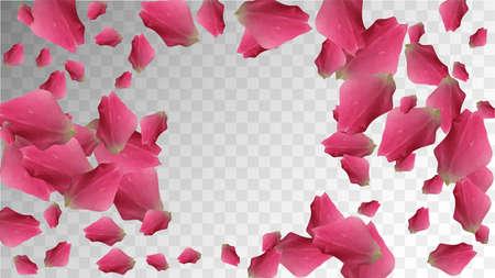 Flower Composition. Wedding Illustration. Valentine Organic Bloom. Spring Texture. Vintage Flower Petal. Fresh Closeup. Silk Flower Composition. Romantic Composition. Botanical Petals. 矢量图像