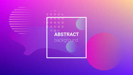 Colorfull Background. Horizontal Orientation. Modern Geometric Pattern. Banner Design Composition. Colorfull Background. 矢量图像
