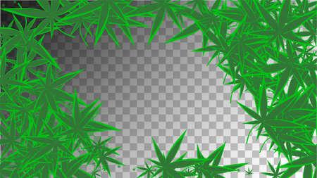 Grass Texture. Abstract  Organic Design. Transparent Ganja Collection.  Hemp Hashish Texture. Yellow Medicinal Background.  Grass Texture. Green Chemical Illustration.
