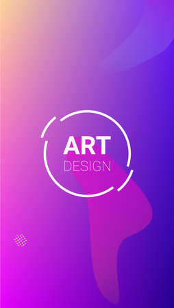Gradient Background. Banner Design Composition. Modern Geometric Pattern. Horizontal Orientation. Gradient Background.