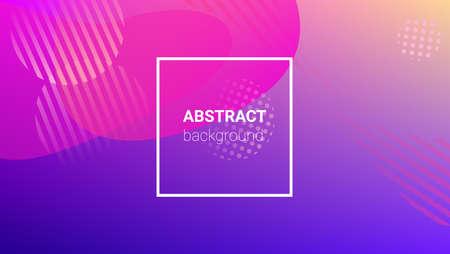 Gradient Background. Banner Design Composition. Modern Geometric Pattern. Horizontal Orientation. Gradient Background. 免版税图像 - 156783591