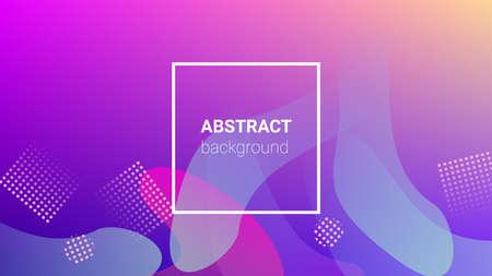 Fluid Shapes. Banner Design Composition. Horizontal Orientation. Modern Geometric Pattern. Fluid Shapes. Stock fotó - 156783595