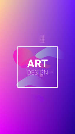 Colorfull Background. Modern Geometric Pattern. Horizontal Orientation. Banner Design Composition. Colorfull Background. 矢量图像