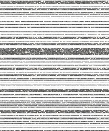 Seamless abstract pattern from strips of various thicknesses from silver glitter.