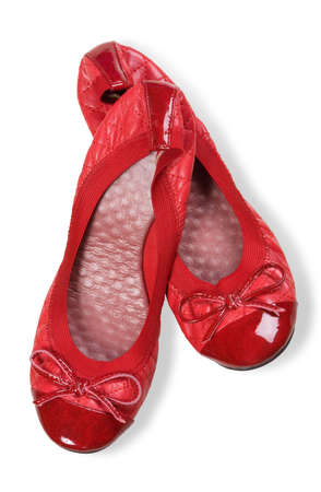 entice: red shoes