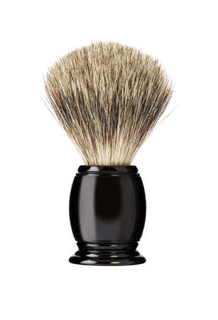 barber shave: Shaving brush Stock Photo