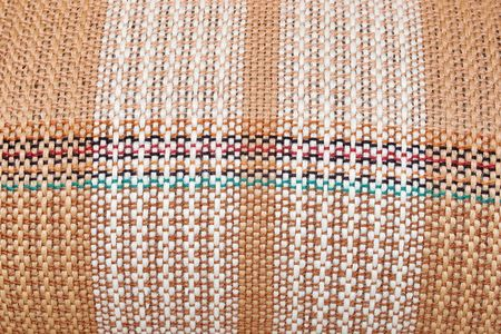 bulging: Woven colored bulging seamless texture with selective focus Stock Photo