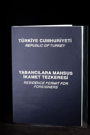 permit: Residence permit for foreigners in republic of turkey