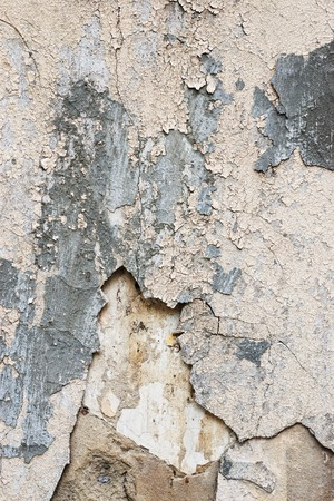 Grungy seamless texture of peeling plaster wall with cracked parts Stock Photo - 7102252
