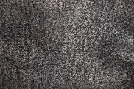 Closeup of seamless brown leather texture Stock Photo - 7487349