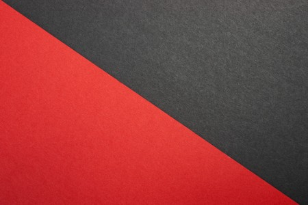 Diagonal red and black paper textures Stock Photo