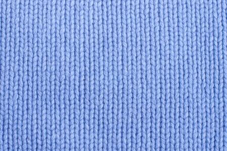 closeup della trama del tessuto a maglia blu senza soluzione di continuit�