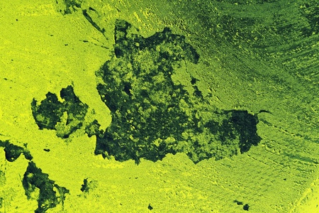 limescale: Closeup of abstract toxic green grungy background