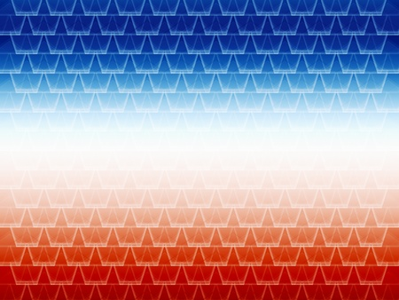seamless abstract blue and red graphic cell shapes with white gradient in the center photo