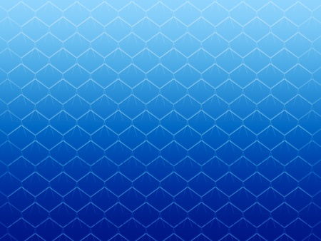 tessellated: seamless abstract blue graphic cell shapes with white gradient on top
