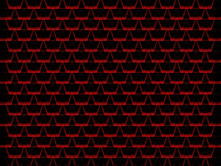 tessellated: seamless abstract dark red grungy graphic cell shapes
