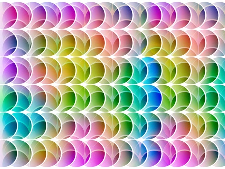 seamless abstract multicolored graphic textured shapes on white photo