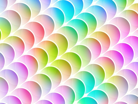 seamless abstract multicolored graphic circle textured shapes with diagonal arrangement photo