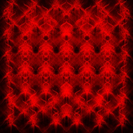 Abstract seamless red fire flames pattern on black background Stock Photo - 9215632