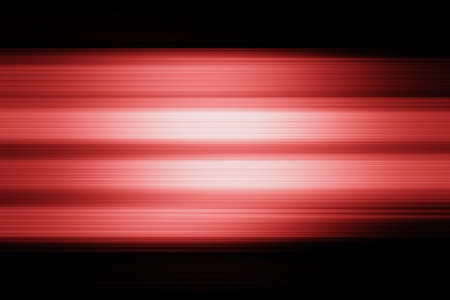 Abstract light red blurred lines patterns on black background photo