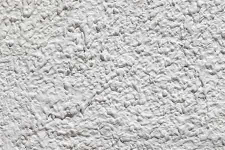 horizontal closeup of white plaster textured wall background Stock Photo - 9403621