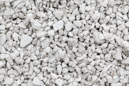 Crushed white stone background