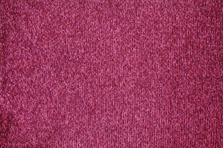Seamless dark pink woolen fabric  photo