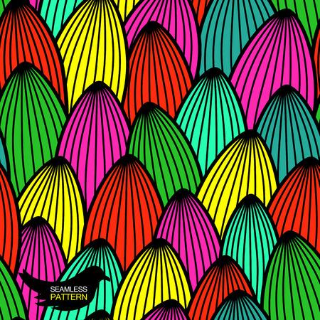 background decorative: Flowers seamless texture   A colorful background  Decorative